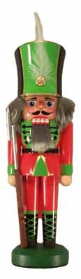 Nussknacker Soldat rot 26cm NEU Nußknacker Holz Figur Erzgebirge