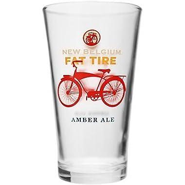 New Belgium Brewery Fat Tire Pint Glass