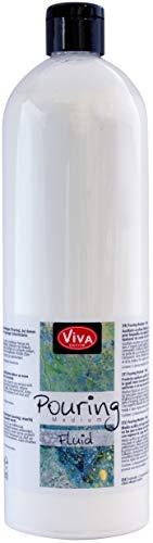 VIVA DECOR Pouring Medium Transparent, 1000 ml
