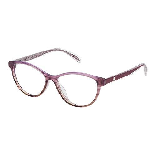 TOUS VTO9725306B1 Gafas, ROSA, 53/15/140 para Mujer