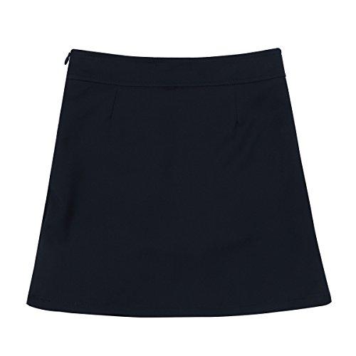 Freebily Falda Escocesa Plisada Uniforme Escolar Falda Tesis Deportiva Mini Faldas Pantalón(4-14Años) Azul Marino 5 Años