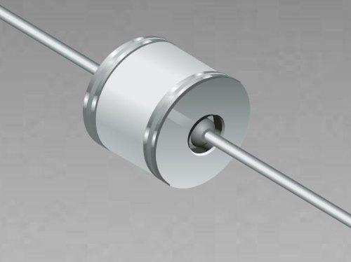 Gas Discharge Tubes - GDTs / Gas Plasma Arrestors Sparkover100V/s 90V Miniature 2 Pole (5 pieces)