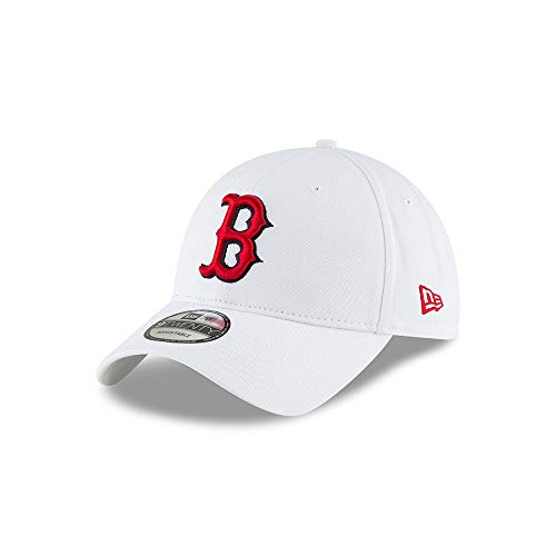 New Era Boston Red Sox Core Classic 9TWENTY Adjustable MLB Cap Weiss, One Size