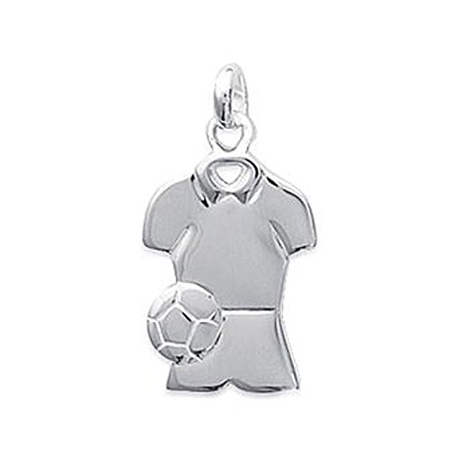 Colgante camiseta de fútbol en plata 925–Neuf
