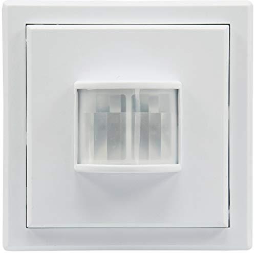 Funk Bewegungsmelder Aufputz für Innen Serie Pilota Casa 90° 8m Reichweite LED Geeignet FunkSignal bis 30 Meter Weiß