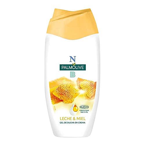 NB Palmolive Leche y Miel, Gel de Ducha o Baño - 250 ml