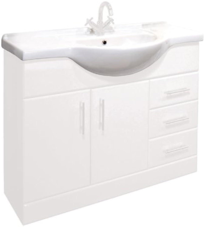 Trueshopping 1050mm Standard Ersatz Waschbecken für Klassische Badezimmer-Waschkommode