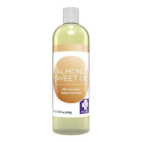 MD. Life Almond Oil for Skin 16oz �…