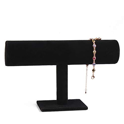 Jewelry Display Stand Holder Bracelet Necklace Bangle T Bar for Home Organization