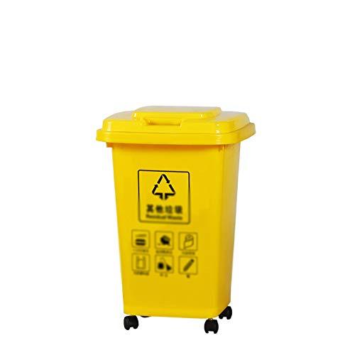 cubo 30l plastico fabricante Outdoor trash can