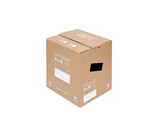 10 Stück stabile Umzugskartons KARTONARA Box S   kompakte Umzugskiste 32 Liter