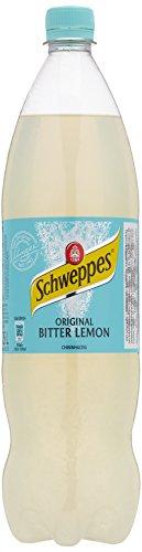 Schweppes Bitter Lemon, 6er Pack, EINWEG (6 x 1.25 l)