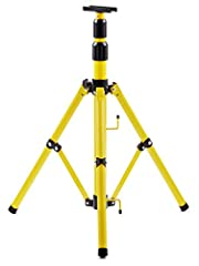 [ADJUSTABLE AND EXTENDABLE] The adjustable tripod extendeds up to 6 feet which makes it the perfect stand to get your LED's off the ground [GREAT FOR PAIRING WITH MULITPLE DIFFRENT LIGHTS] the tripod can be easily paired with the 15W slim series dual...