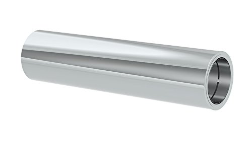kürzbares Längenelement 1000mm Länge mit integriertem Wandfutter für doppelwandige Schornsteine DW; Innen/Außen je 0,5 mm Wandstärke; Ø 150mm Innendurchmesser, Edelstahl