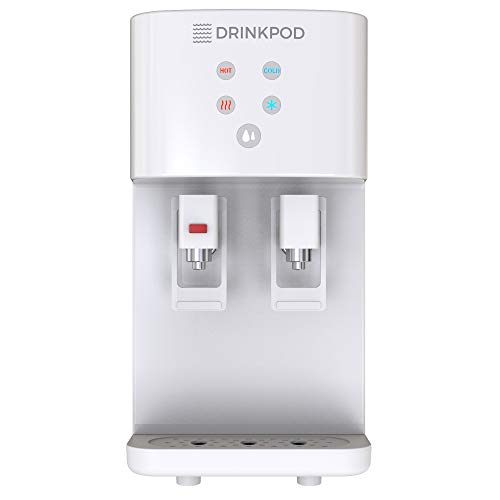 Bottleless Water Cooler Countertop Water Dispenser Hot & Cold Modes For Offices and Homes
