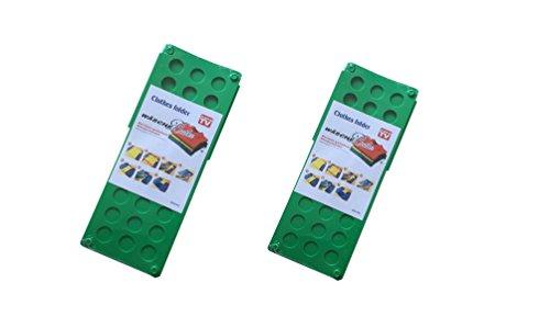 xiangyang® 2 Unidades Flip & Fold – Doblador de Ropa Niños y Adultos faltrett Fácil y rápida XYQ-Y001 ((S + L) - Verde)