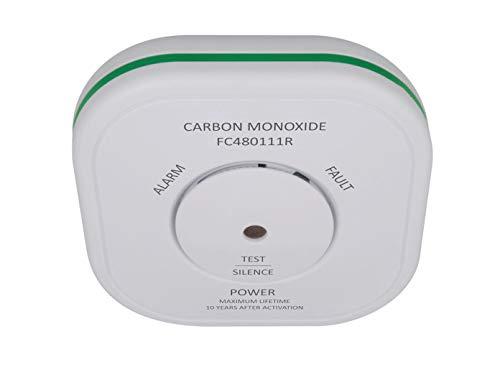 ELRO Funk Kohlenmonoxid-Melder mit Magnethalter und 10-Jahres Sensor, CO-Melder verlinkbar mit Smart Home Connects System und anderen vernetzbaren Warnmeldern von ELRO
