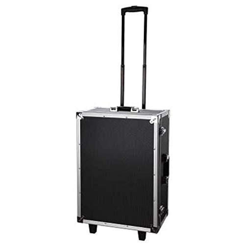 Gepäck Koffer Rad Kamera Ausrüstung Werkzeugkasten Fotografie Rollgepäck Spinner Spiegelreflexkamera Aufbewahrungsbox for mehrere Objektive (Farbe : Schwarz, Luggage Size : 18