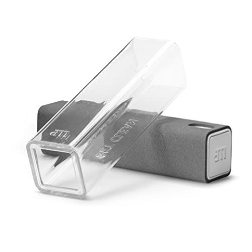 AM Get Clean Mist 2 in 1 Bildschirmreiniger mit Mikrofasertuch und Spray für Tablet, Brillen, Smartphones, E-Reader, Touchscreen und Fernseher, inkl. 1 x 10,5ml Flaschen + Mikrofasertuch (Grau)