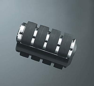 Kuryakyn 7965 Motorcycle Footpegs: Premium ISO Pegs without Adapters, Large, Chrome, 1 Pair by Kuryakyn
