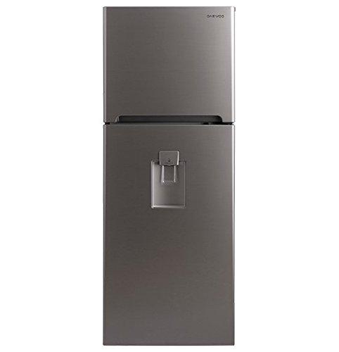 Daewoo DFR-36510GNMD Refrigerador Top Mount 364 litros (13 p3), color Plata, Plata