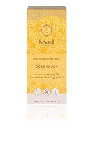 Khadi Naturprodukte Coloration pour cheveux naturels Doré 100 g