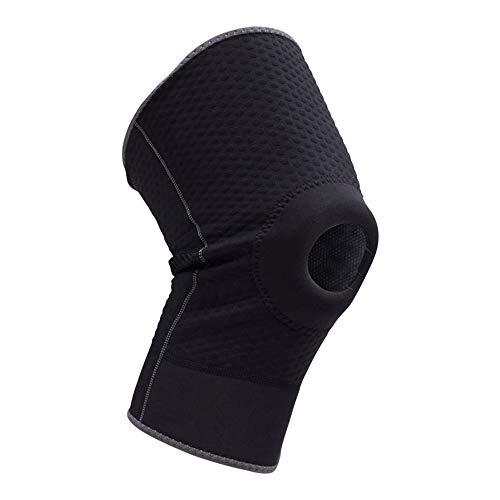 Rodilleras deportivas, protectores de rodilla con agujero, anticolisión, para baloncesto, absorbe el sudor (talla XL)