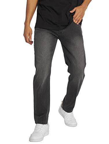Ecko Unltd Männer Straight Fit Jeans Mission Rd in schwarz W 42 L 34