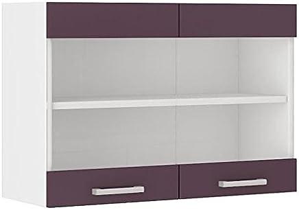 Amazon.fr : meuble haut cuisine vitre - Bois / Meubles / Ameublement ...