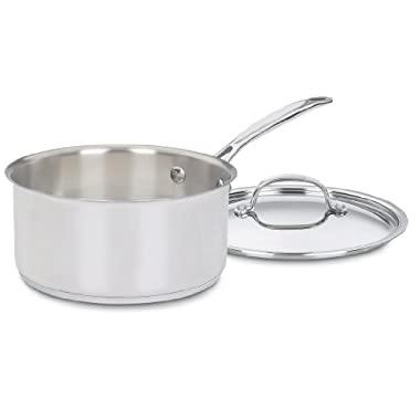 Cuisinart 7193-20 Chef's Classic Stainless 3-Quart Saucepan with Cover