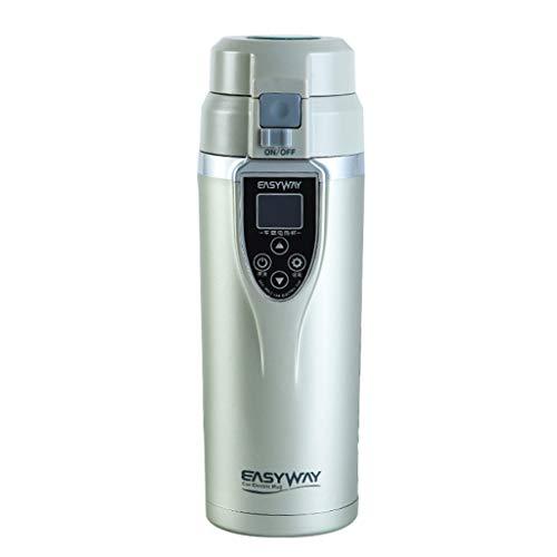 Creative Light- 350ML Voiture électrique Tasse 12V / 24V contrôle de la température Intelligent Affichage à Cristaux liquides Tasse de Chauffage Coupe Isolant approprié pour