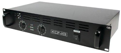 König PA-AMP4800-KN PA-Verstärker (2x 240 Watt)