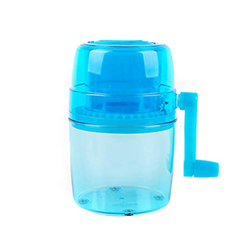 Children's Hand-shaved Ice Machine, Household Portable Manual Crank Ice...