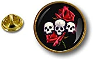 Spilla Pin pin's Spille spilletta Giacca Badge Teschio Cranio Pirata Skull r4