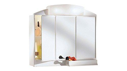 Jokey Spiegelschrank Rano mit Licht Beleuchtung 59cm breit weiss