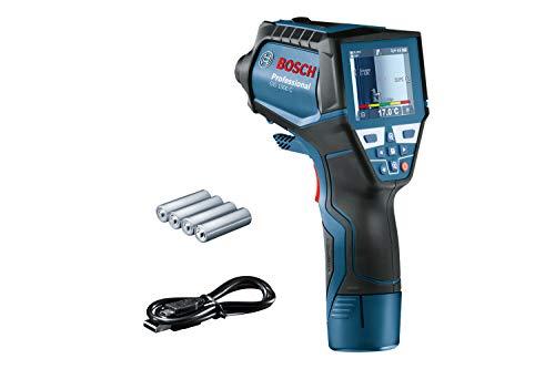 Bosch Professional Infrarot-Thermometer GIS 1000 C (mit App-Funktion, Temperaturbereich: –40 °C bis 1000 °C, 4x AA-Batterie, im Karton)
