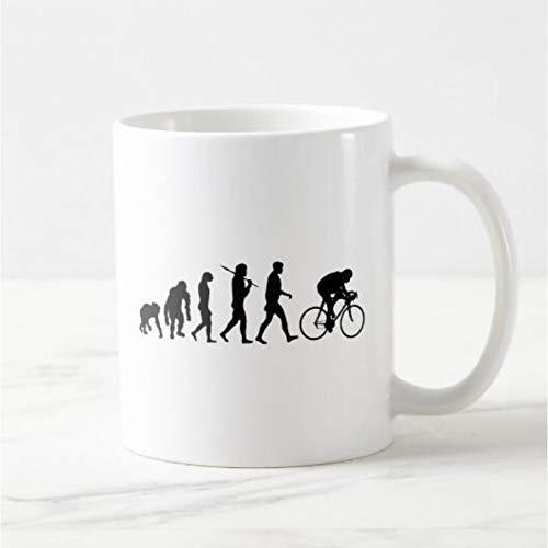 Erjialiu Mountainbike Evolutie Koffie Mok Bier Thee Cup Bike Cadeaus Voor Fietser Grappige Outdoor Sport Cups Geschenken