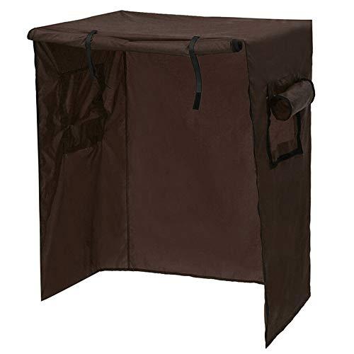 laoonl Cubierta protectora para jaula de loros, jaula de pájaros, cubierta protectora para jaulas de loros, bolsa de protección impermeable y ligera