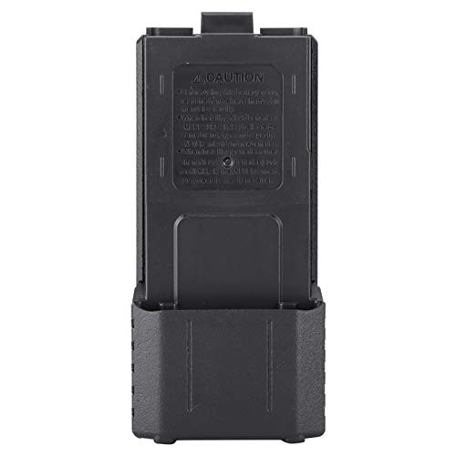Yivibe Caja de batería portátil, Caja de batería pequeña Reutilizable para BAOFENG UV-5R, UV-5RB, UV-5RE, UV-5RE +