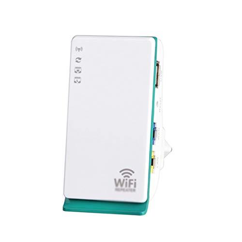 MC.PIG Extensor de Rango Wi-Fi - Repetidor de Amplificador de señal WiFi 300M Router inalámbrico 3G4G Mejorador de expansión de Red Amplificador de señal WiFi para Oficina en casa