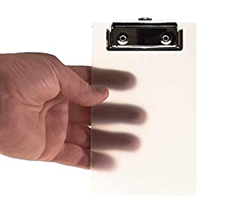 Primo Factotum - Mini Clipboard - Frosted Transparent 4  x 6  -  2 Pack