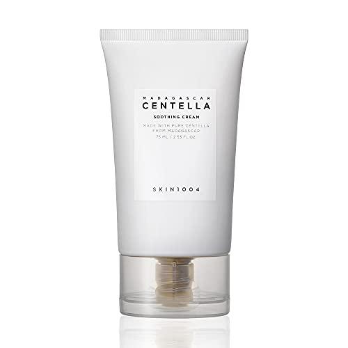 SKIN 1004 Madagascar Centella Soothing Cream 2.53 fl.oz (75ml)   Quadruple Ceramide Complex   Strengthens Skin Barrier   Smooths Skin