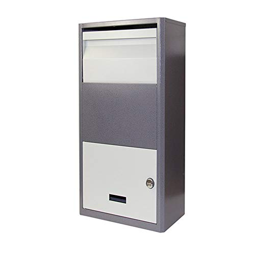 APXZC Mechanical Lock Express Cabinet, Home Anti-Theft Parcel Box, Thicker Material Easy Store, Rainproof Shock-Absorbing Drop-Proof Foam Pad, for Outdoor Courtyard Entrance
