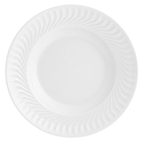 VISTA ALEGRE Sagres Plato Hondo, Porcelana, Blanco, 22.6 cm