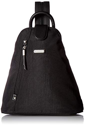 Baggallini womens Metro Backpack With Rfid Wristlet One Size