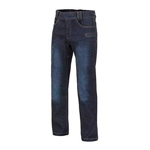 Helikon-Tex GREYMAN Tactical Jeans - Denim Mid Dark Blau M/Long