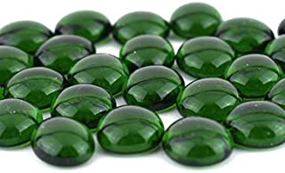 Oceanside Pebbles - Light Green Cathedral - 96 COE - 8oz - By Stallings Stained Glass