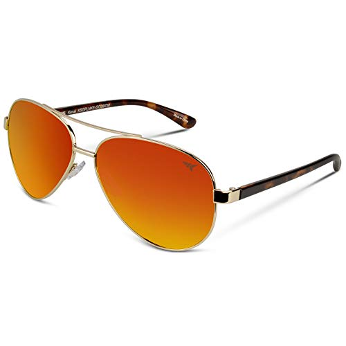 KastKing Kenai Polarized Aviator Sunglasses for...