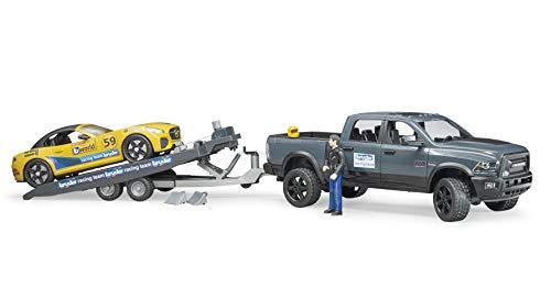 Bruder 02504 - RAM 2500 Power Wagon und Roadster Racing Team