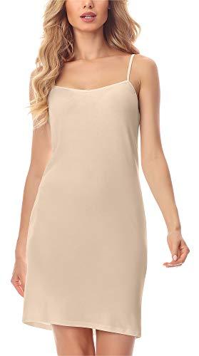 Merry Style Combinación Vestido Interior Mujer MS10-203 (Beige, S) (Ropa)
